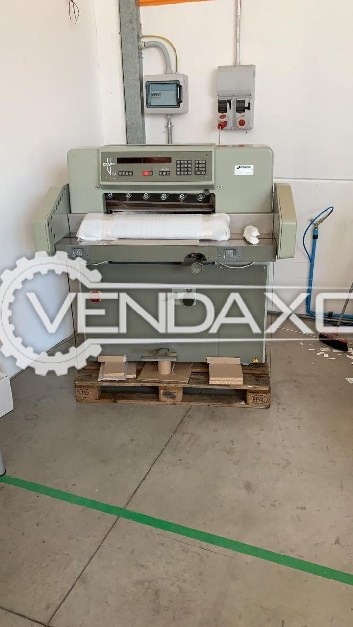 Polar Mohr 58 EM Paper Cutting Machine - 58 CM