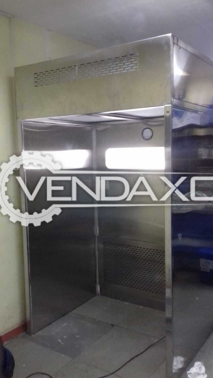 For Sale New SS 304 Fabricated Dispensing Booth Complete Unit - 5 x 3 x 6 Feet, 2021 Model