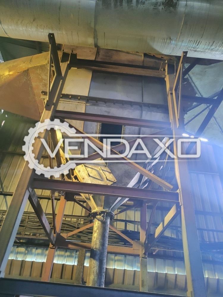 For Sale Used Arjunwadkar Foundries Multi Cyclone Dust Collector MDC - 12 m³/sec, 2017 Model