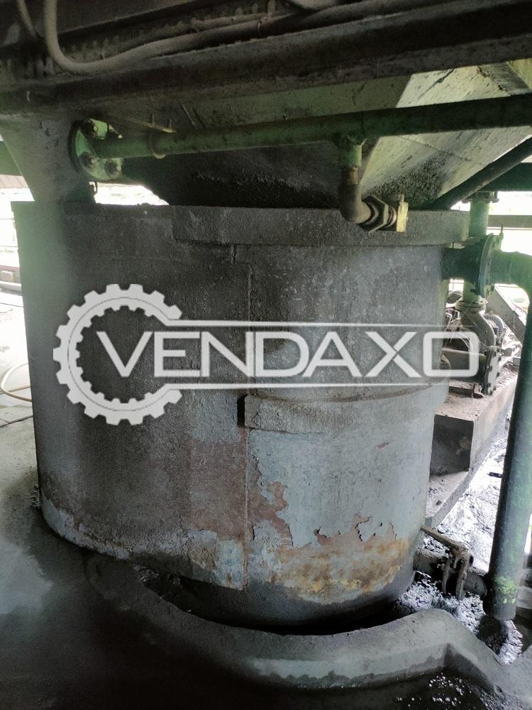 For Sale Used 2 Set of Mild Steel Seal Tank - 1.35 KL