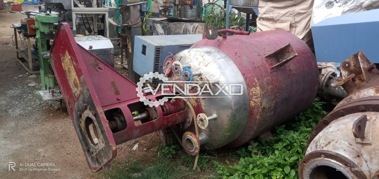 For Sale Used Reactor - 1 KL
