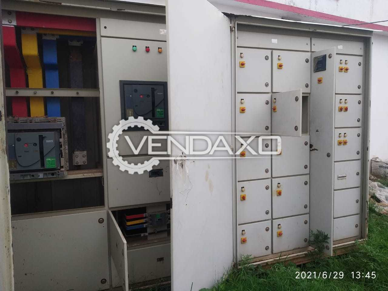 2 Set of Schneider L.T. Panel Incomer 2000a Acb With APFC, ACB Feeder - 2016 Model