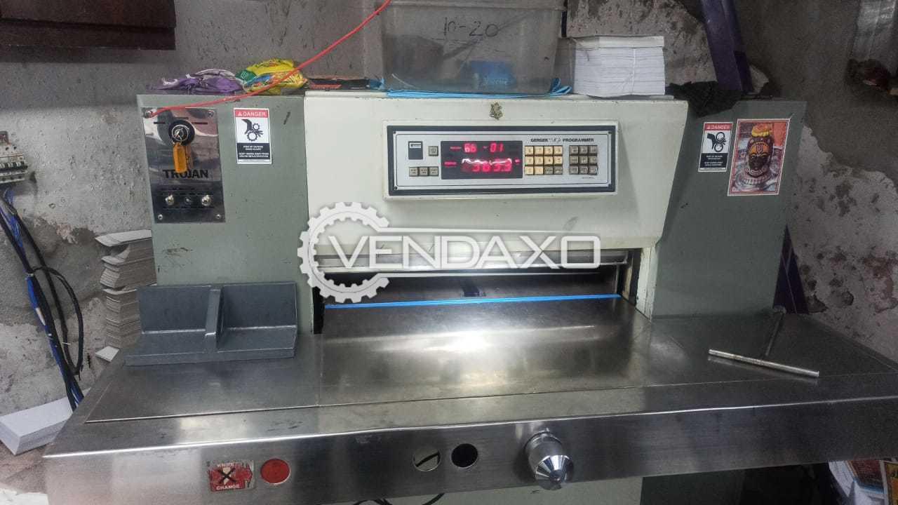 For Sale Used TROJAN Paper Cutting Machine - 29 Inch