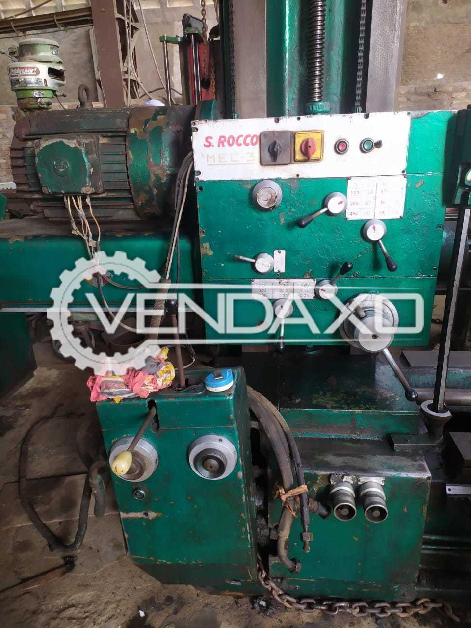 San Rocco Hydraulic Horizontal Boring Machine - Table Size - 36 x 36 Inch
