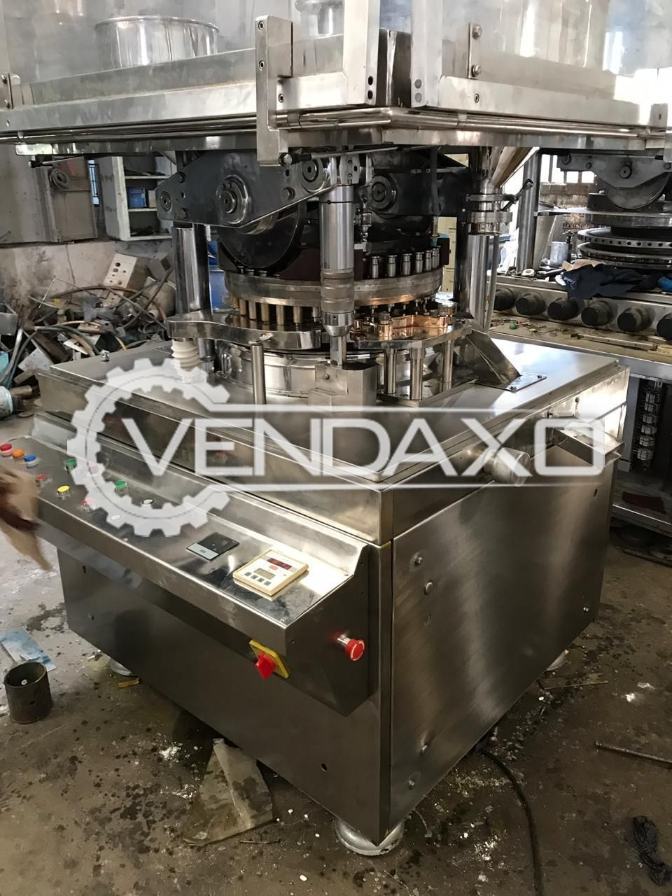 Cadmach D Tooling Pharma Tablet Machine - 37 Station
