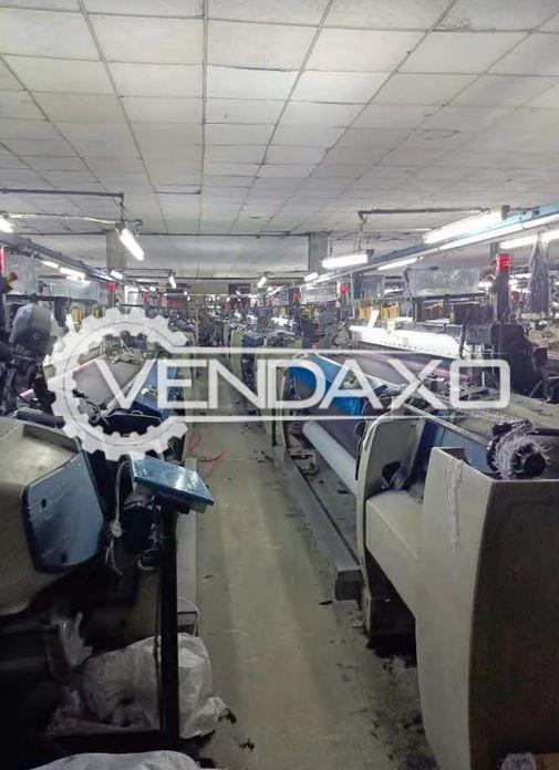 36 Set of Picanol Optimax-4-R Rapier Loom Machine - 220 CM, 2015 Model