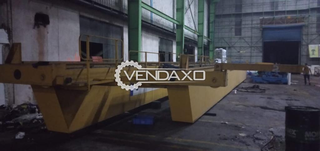 For Sale Used ElectroMech 30/10T EOT Crane - Span - 22 Meter, 2012 Model