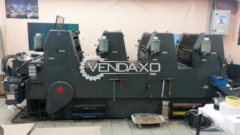 Heidelberg GTOVP-52 Offset Printing Machine
