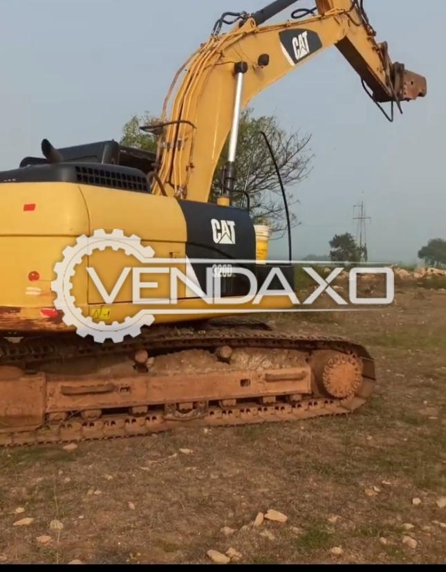 Caterpillar 320D Hydraulic Excavators - Power - 139 HP, 2014 Model