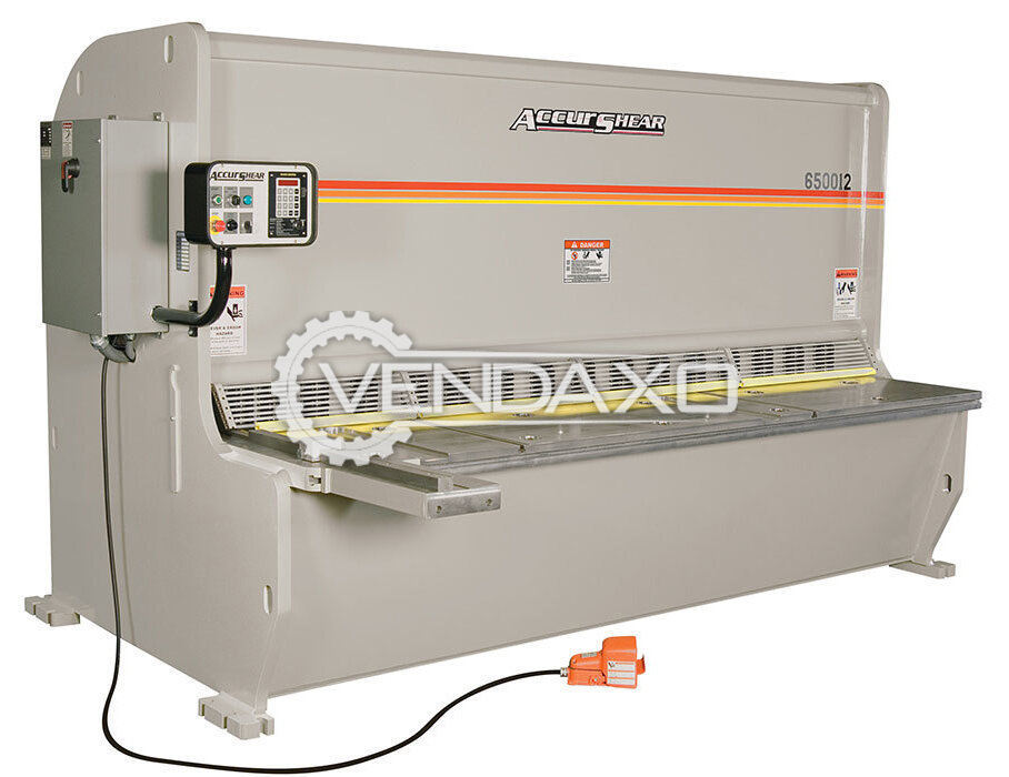 AccurShear 650014 Shearing Machine - 5 Meter x 13 mm