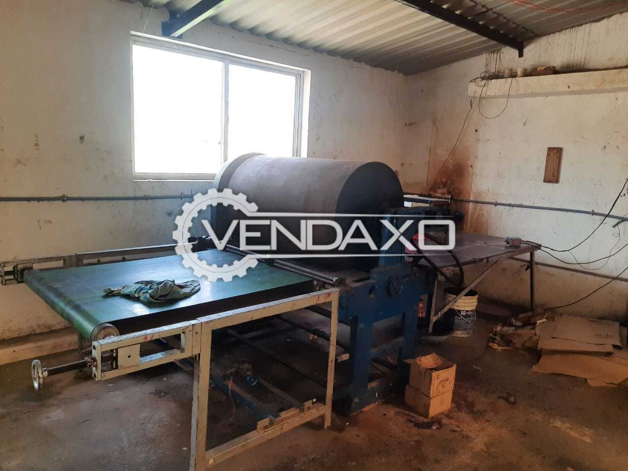 For Sale Used Rotary Cutting, Creasing, Slotter, Sheet Pasting, Box Stitcher, Reel to Sheet Cutter, Corrugation Machine - 2020 Model