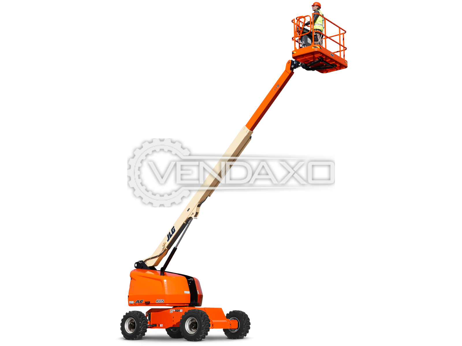 For Sale Used JLG 400S Telescopic Boom Lift  - Height - 40 Feet, 2010 Model