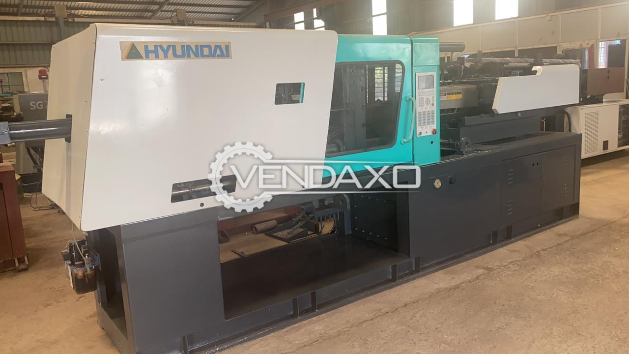 Hyundai Injection Moulding Machine - 150 Ton, 2011 Model
