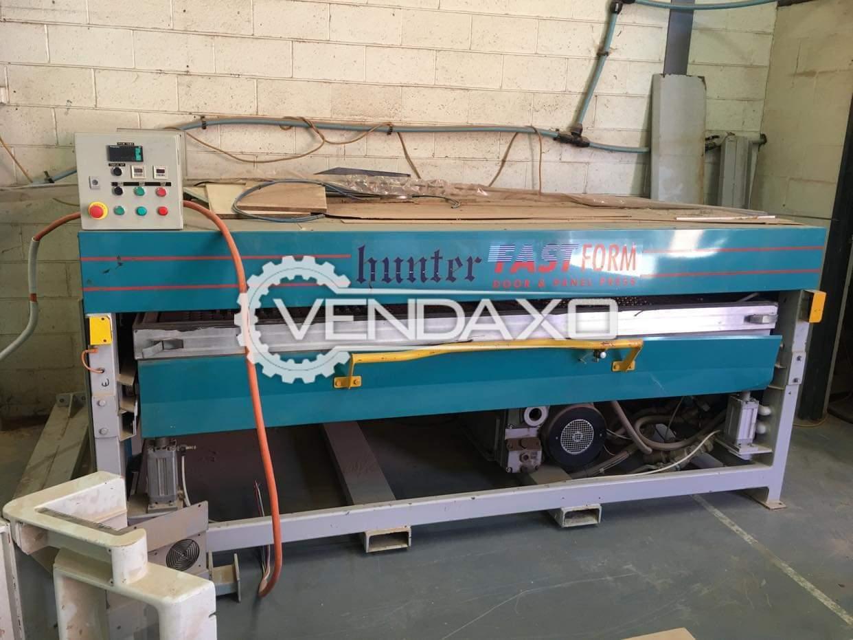 For Sale Used Hunter Vacuum Membrane Wood Press - 2010 Model