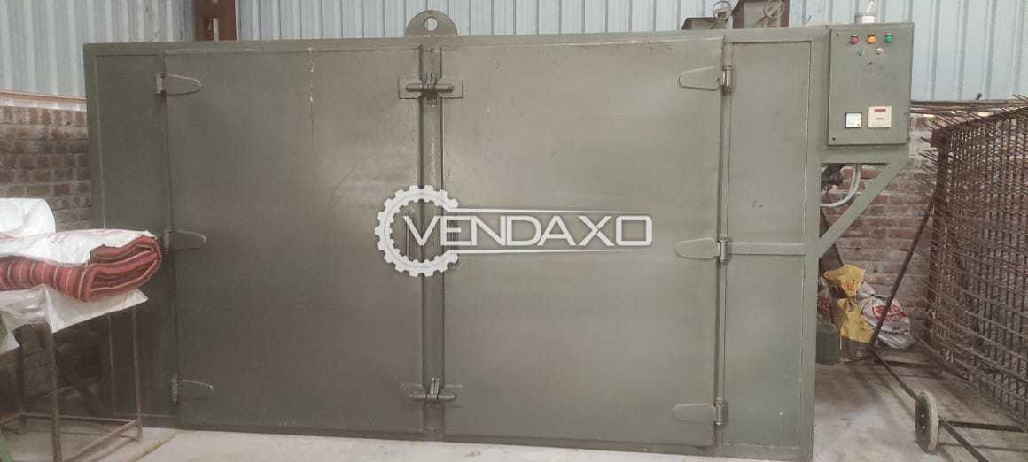 For Sale Used Ele Based Tray Dryer - 1000 KG, 2019 Model