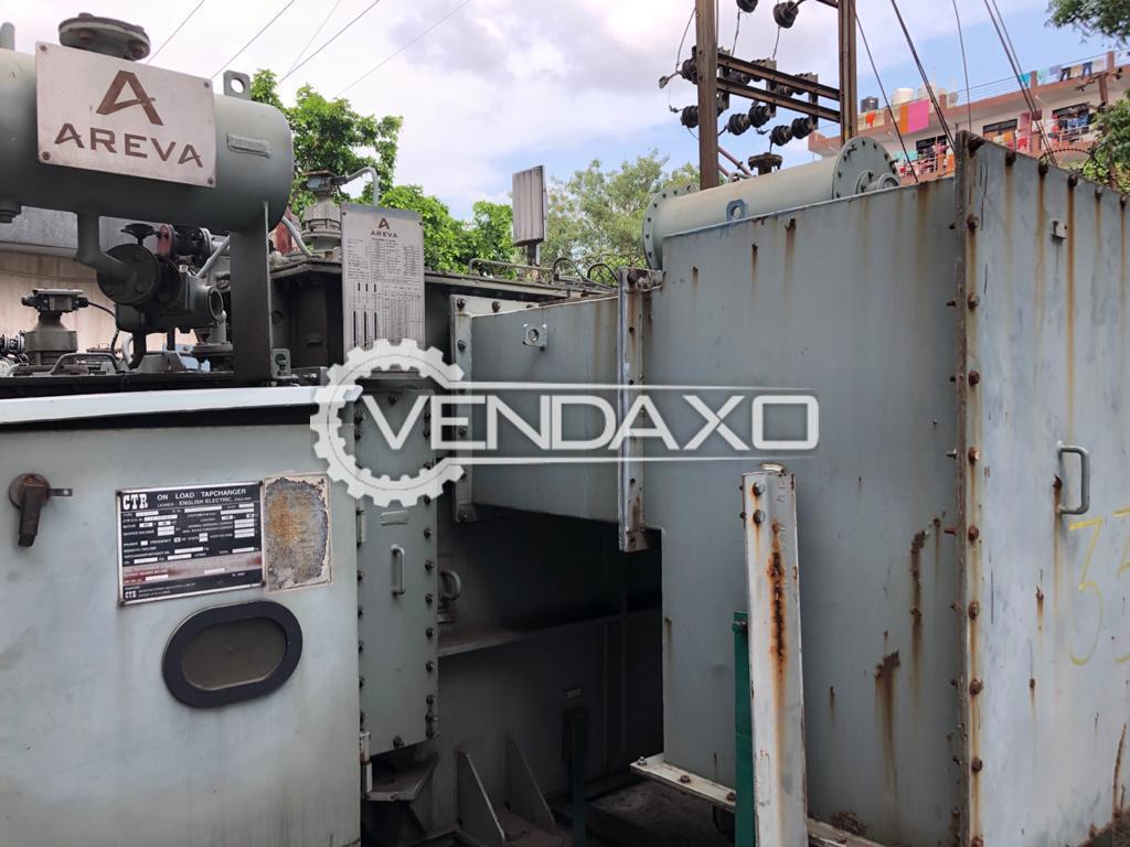 For Sale Used Areva Transformer - 1600 Kva, 2009 Model
