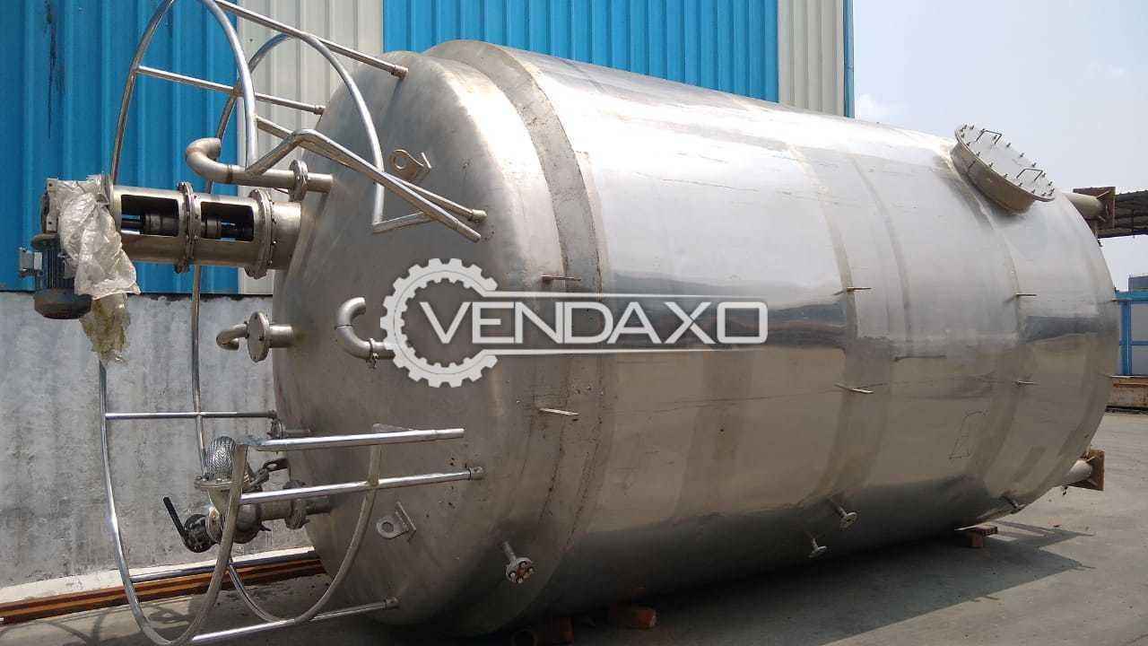 3 Set of Indian Make SS Tank Reactor - 25 KL