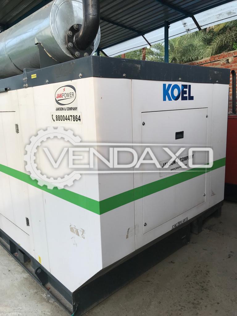 Koel Kirloskar Diesel Generator - 250 Kva, 2020 Model