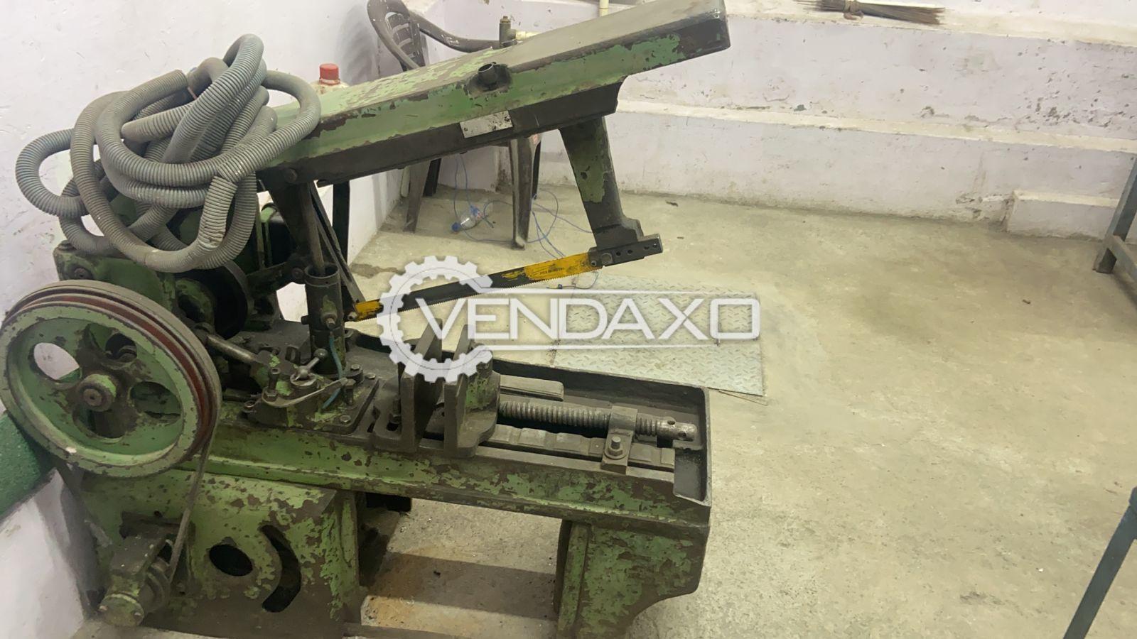 Hydraulic Hacksaw Machine - Diameter - 200 mm, 1985 Model