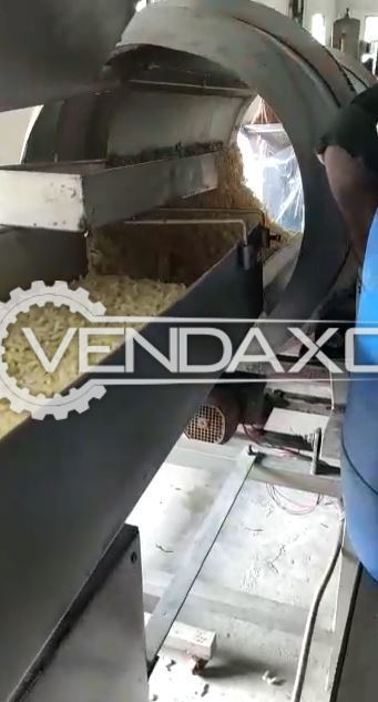 Economode Automatic Fryer Machine - 500 KG Per Hour
