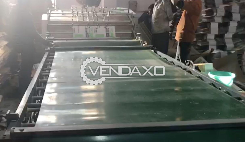 Corrugated Box Flute Laminator Machine - Sheet Size - 24 x 37 Inch, 3 Ply