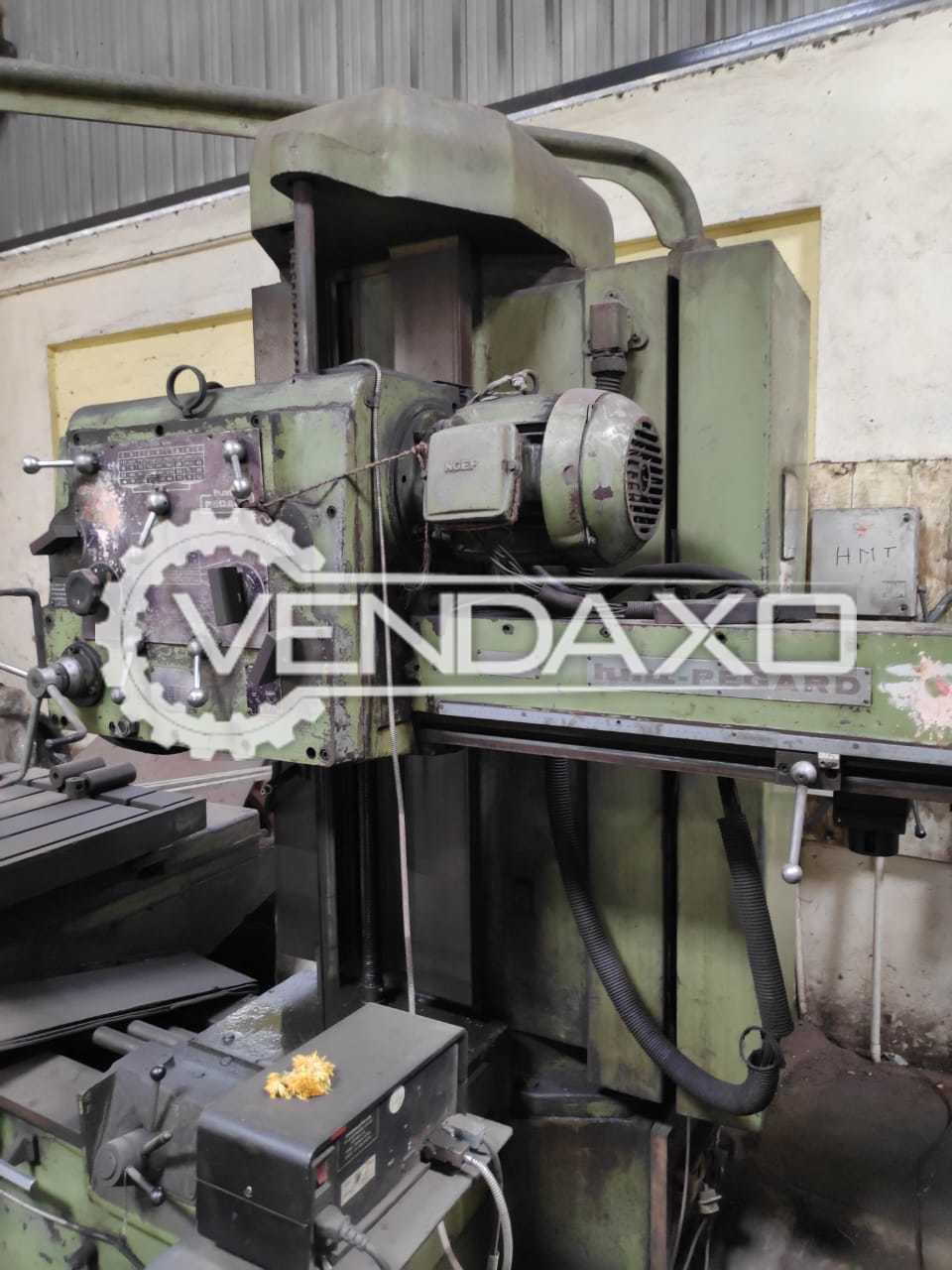 HMT Pegard AF7 Horizontal Boring Machine - Spindle Size - 75 mm