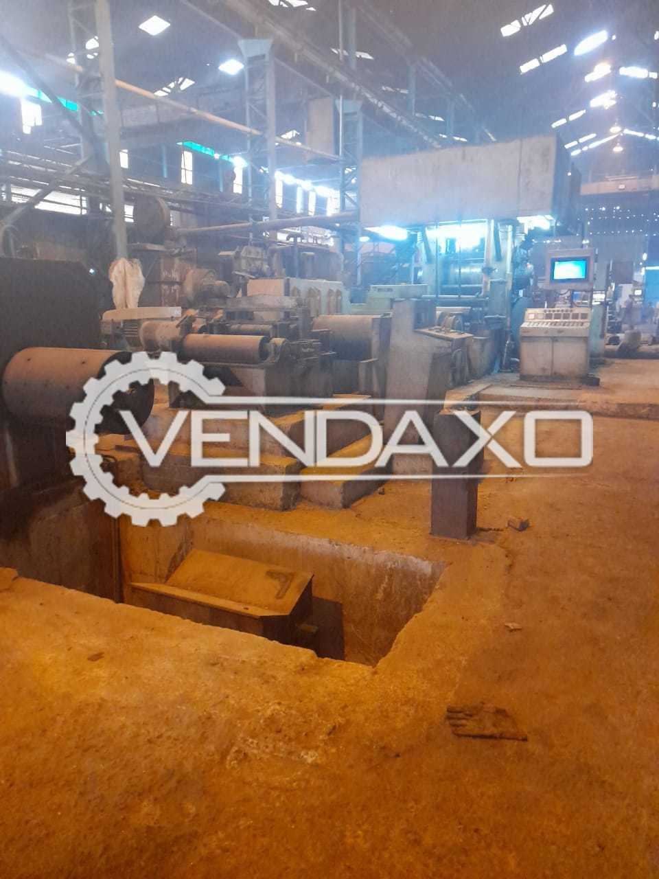 CRC Rolling Mill Plant - 3000 MT Per Month, 2018 Model