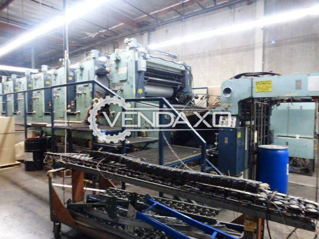 Planeta P77 Super Variant Offset Printing Machine - 55""