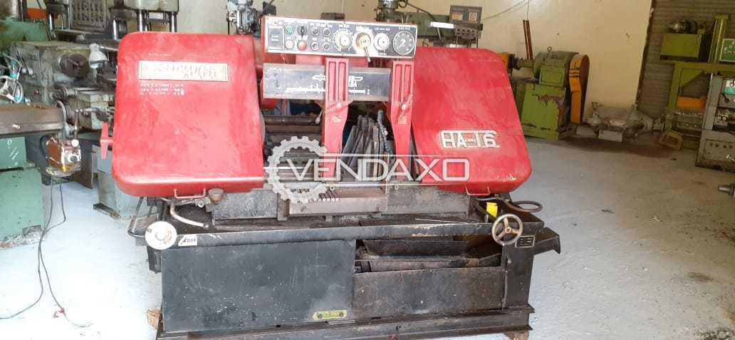 Amada HA16 Bandsaw Machine - 400 mm With Auto Feeder