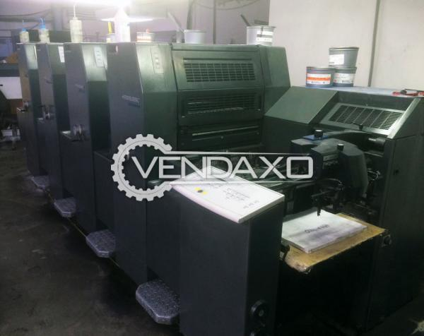 Heidelberg PM 52-4 Printing Machine