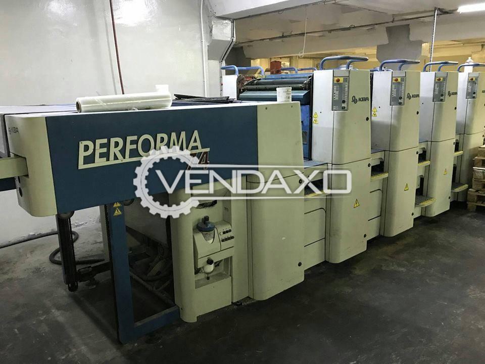 KBA Performa-74 Offset Printing Machine