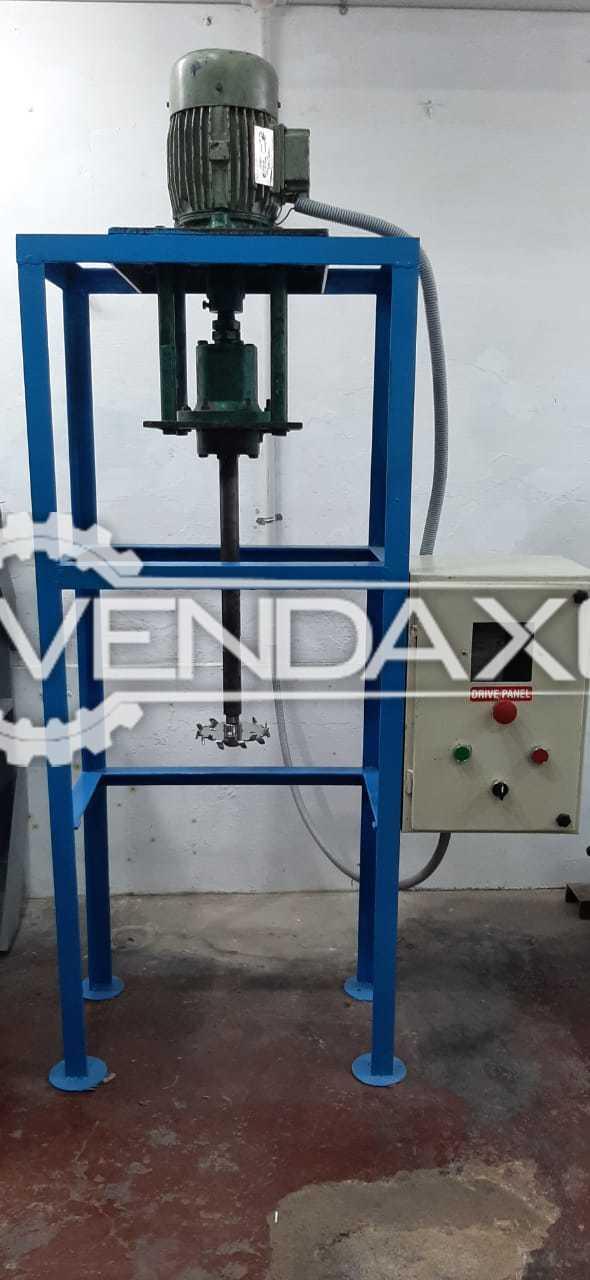 Crompton Heavy Duty High Speed Stirrer Mixer Liquid Paste Machine - 30 Liter, 2000 Model