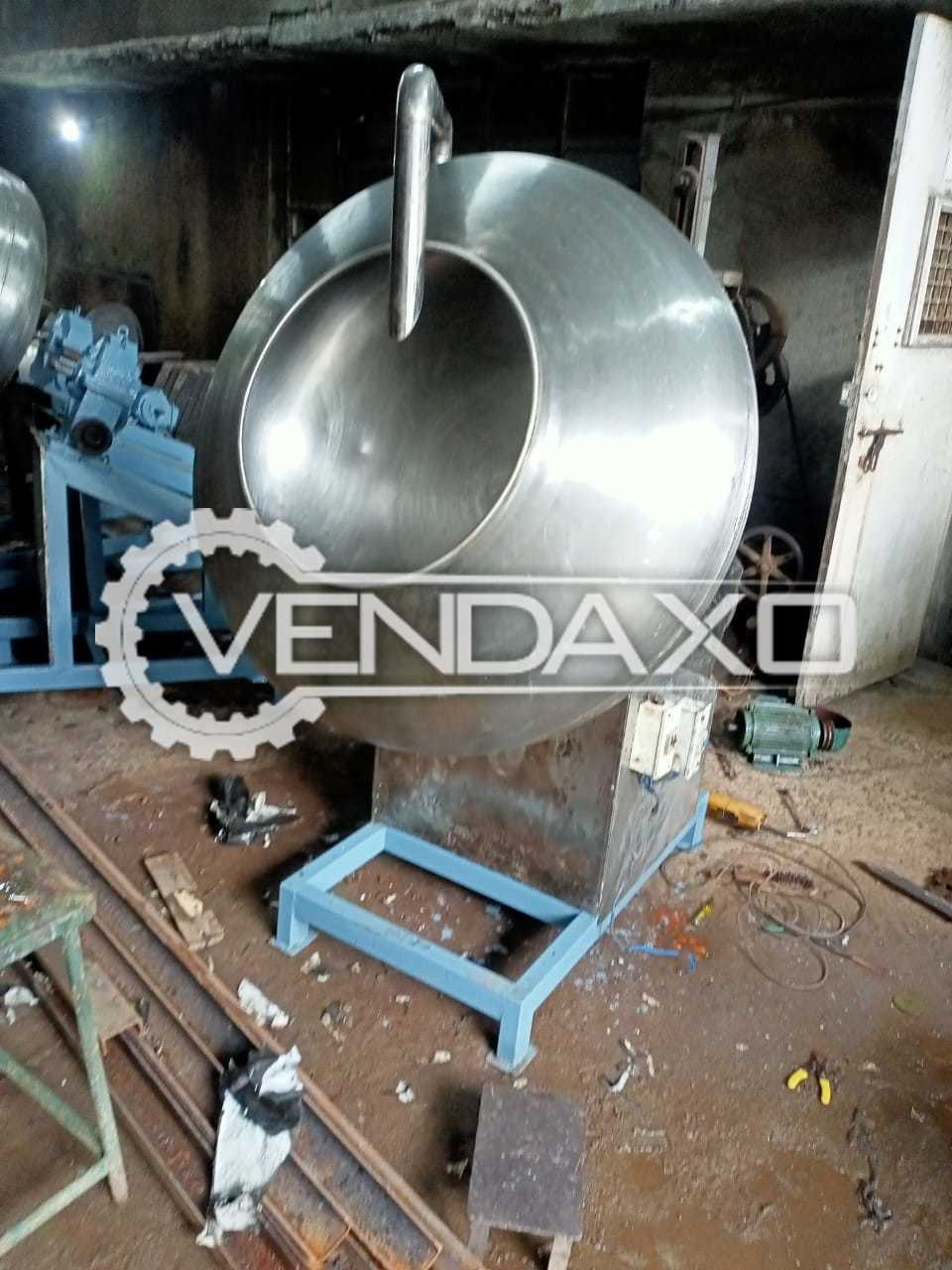 Coating Pan - 36 Inch With Heater