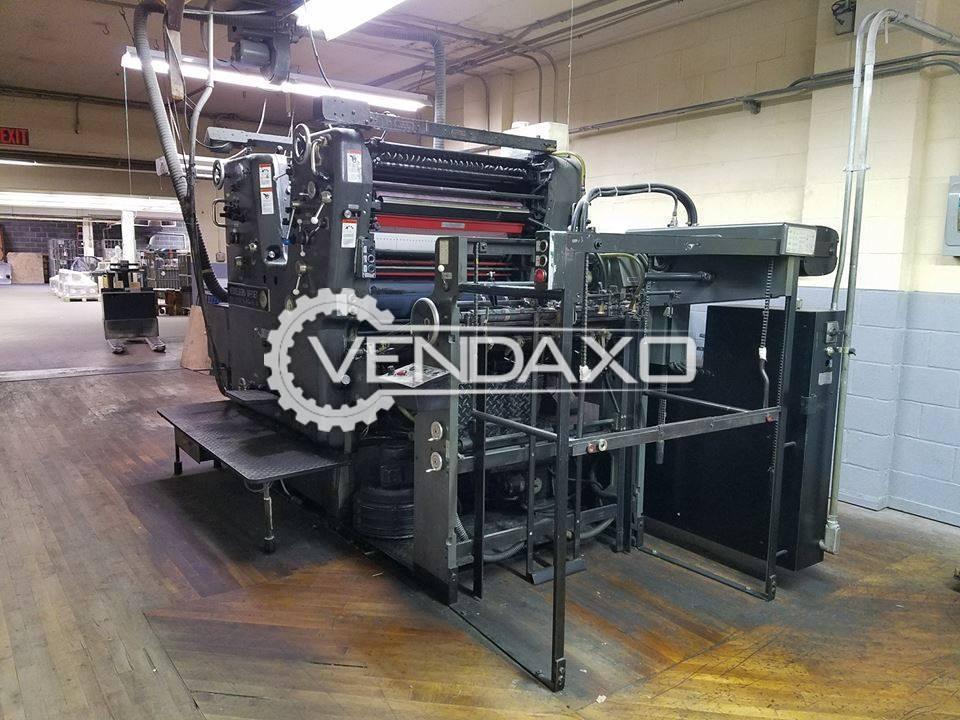 Heidelberg SORDZ Offset Printing Machine