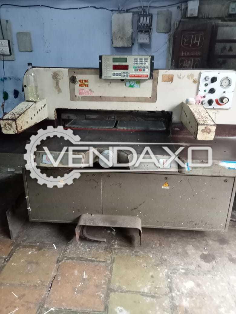 Luigi & Ing Giovanni Mandelli Hydro Paper Cutting Machine - 36 Inch