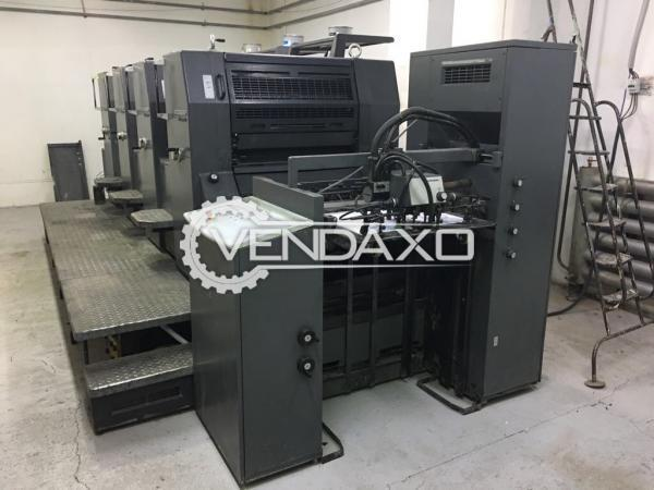 Heidelberg PM 74-4 Offset Printing Machine - 4 Color