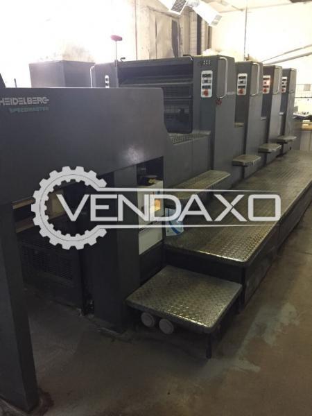 Heidelberg SM 74-4H Offset Printing Machine - 4 Color
