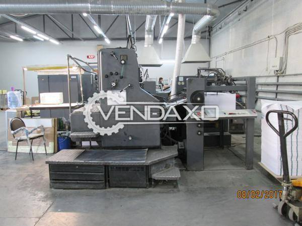 Heidelberg 102ZP Printing Press Machine
