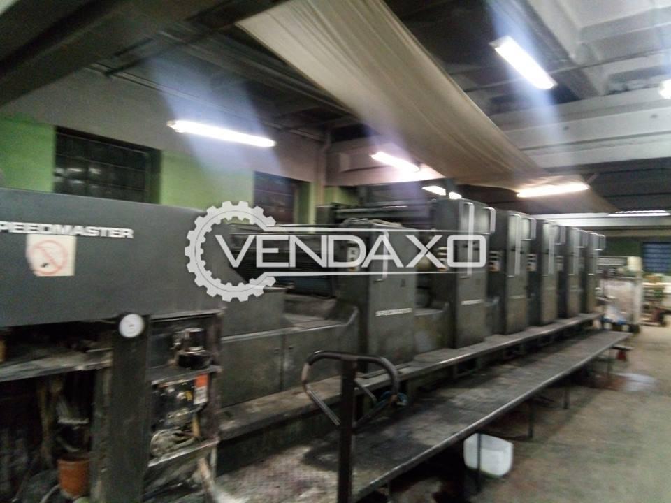 Heidelberg SM102 FPL Printing Machine