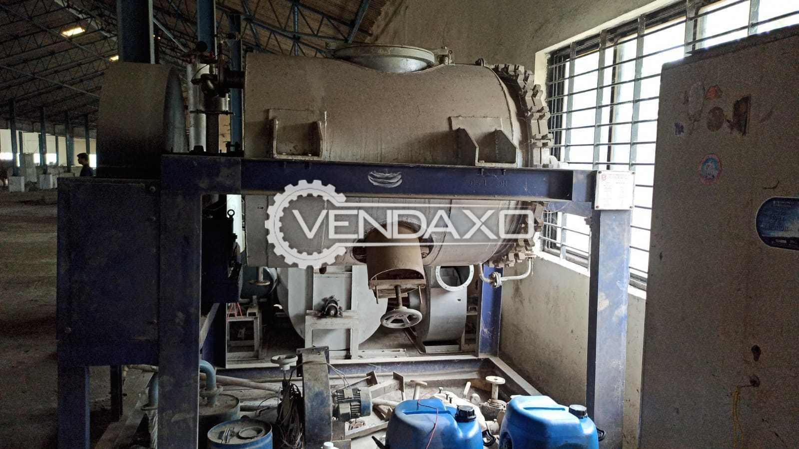 SS 316 Rotary Vacuum Paddle Dryer (RVPD) - 1000 Liter
