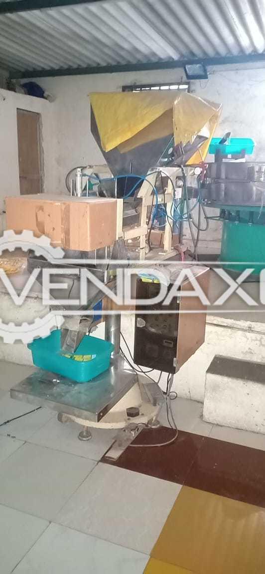 Multi Head Weigh Metric Form Fill & Sealing, TTO Printer, Bucket Conveyor, Air Compressor, Belt Conveyor - 2016 Model
