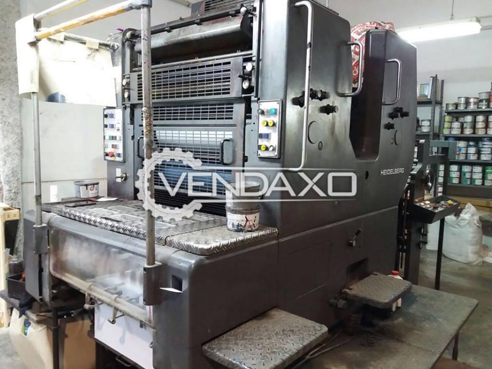 Heidelberg SORMZ Offset Printing Machine