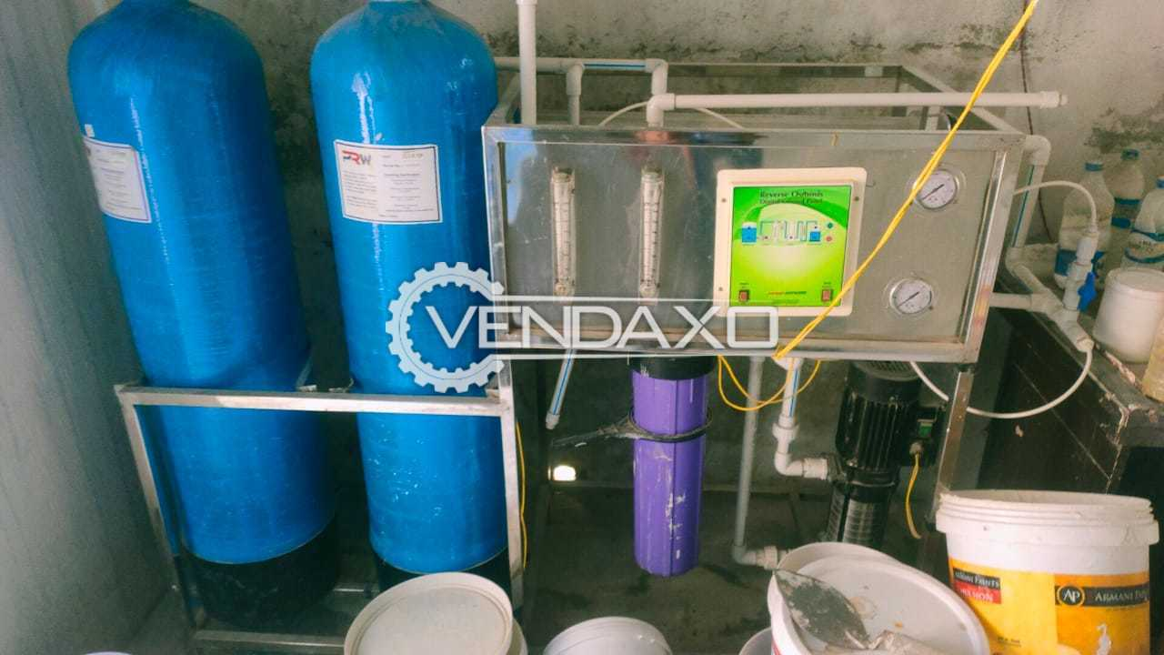 AR System RO Water Plant - 500 LPH, 2021 Model