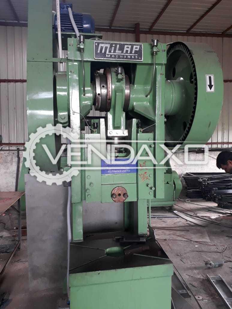 Milap Power Press, Sheet Cutting Shearing, Press Brake Machinery - 2018 Model