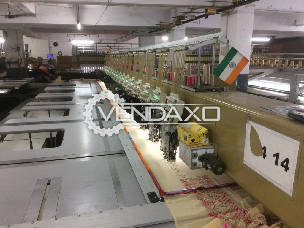 Complete Textile Machinery Plant - 2017 to 2018 Model