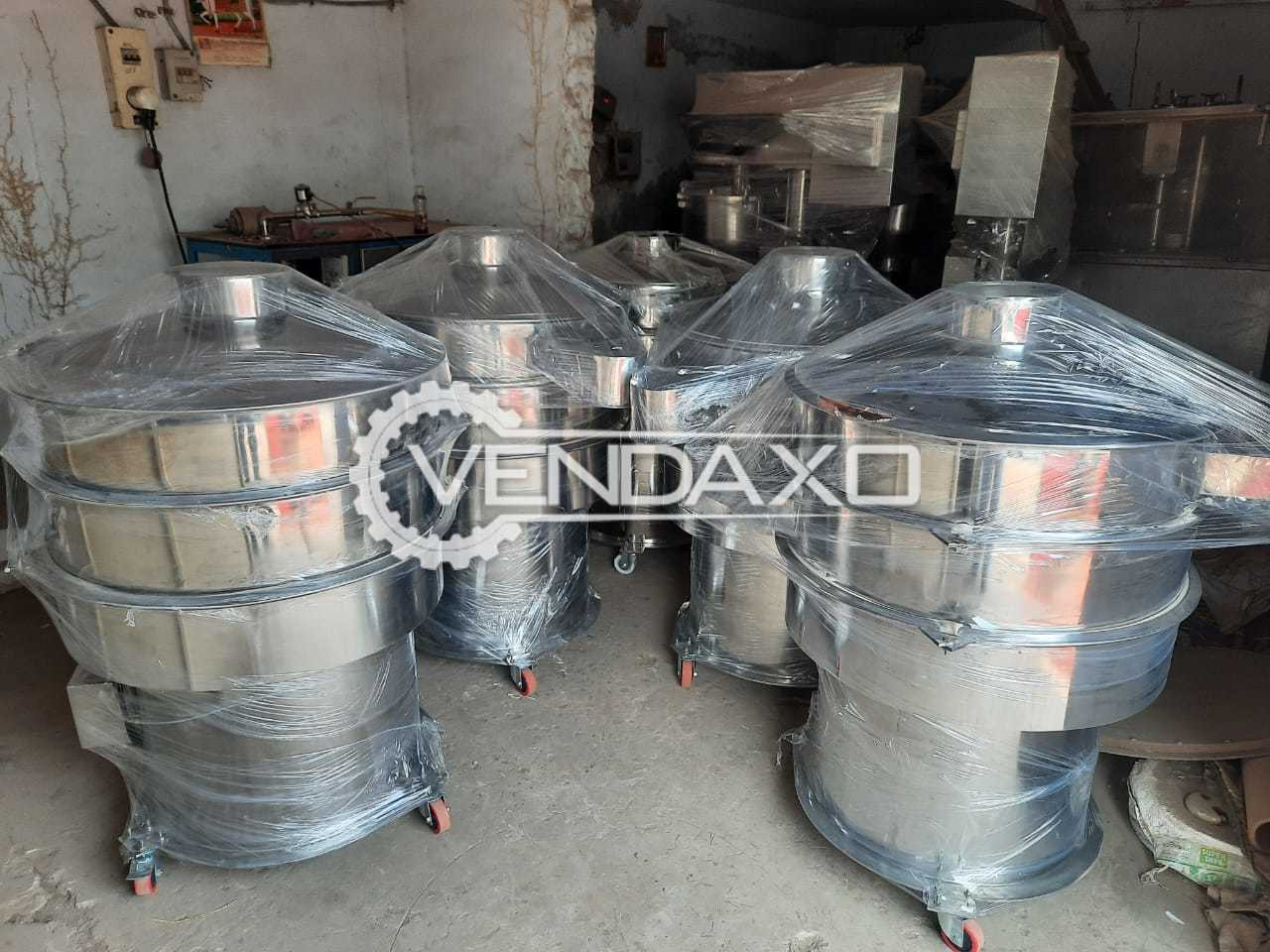 Refurbished SS 304 Sifter - 30 Inch