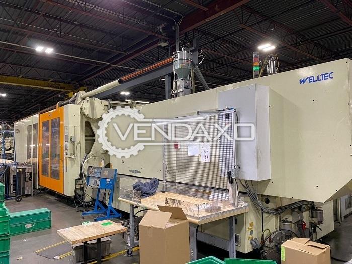 Welltec TTI-1800F2R/GSI Injection Moulding Machine - 1800 Ton, 2007 Model