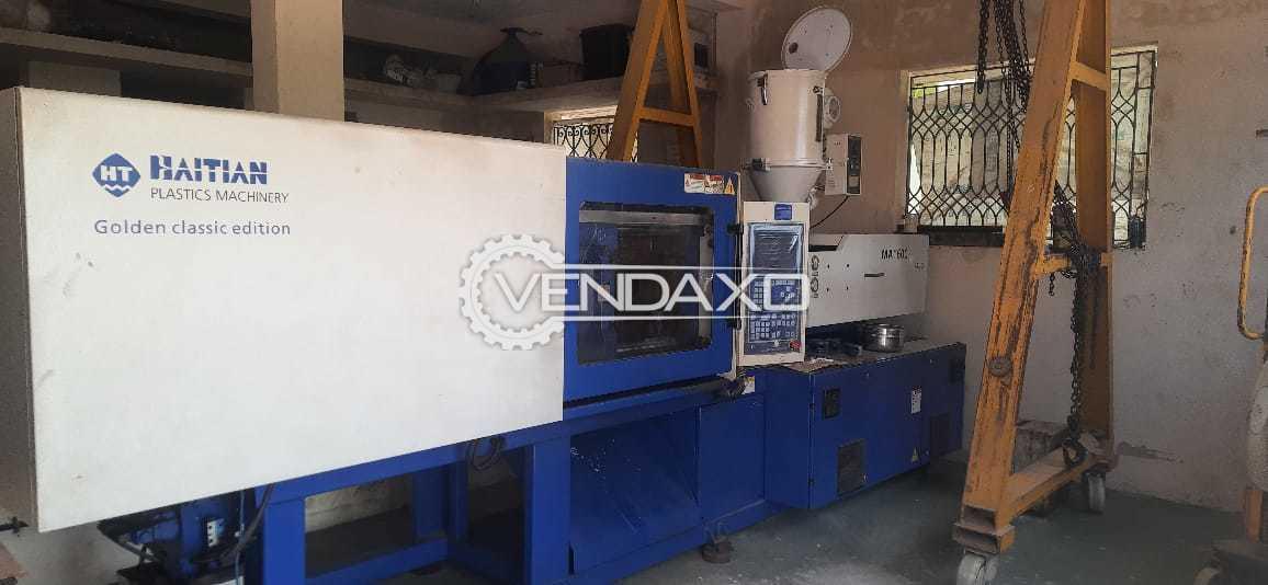 Haitian M-1600/540G Injection Moulding Machine - 160 Ton, 2016 Model