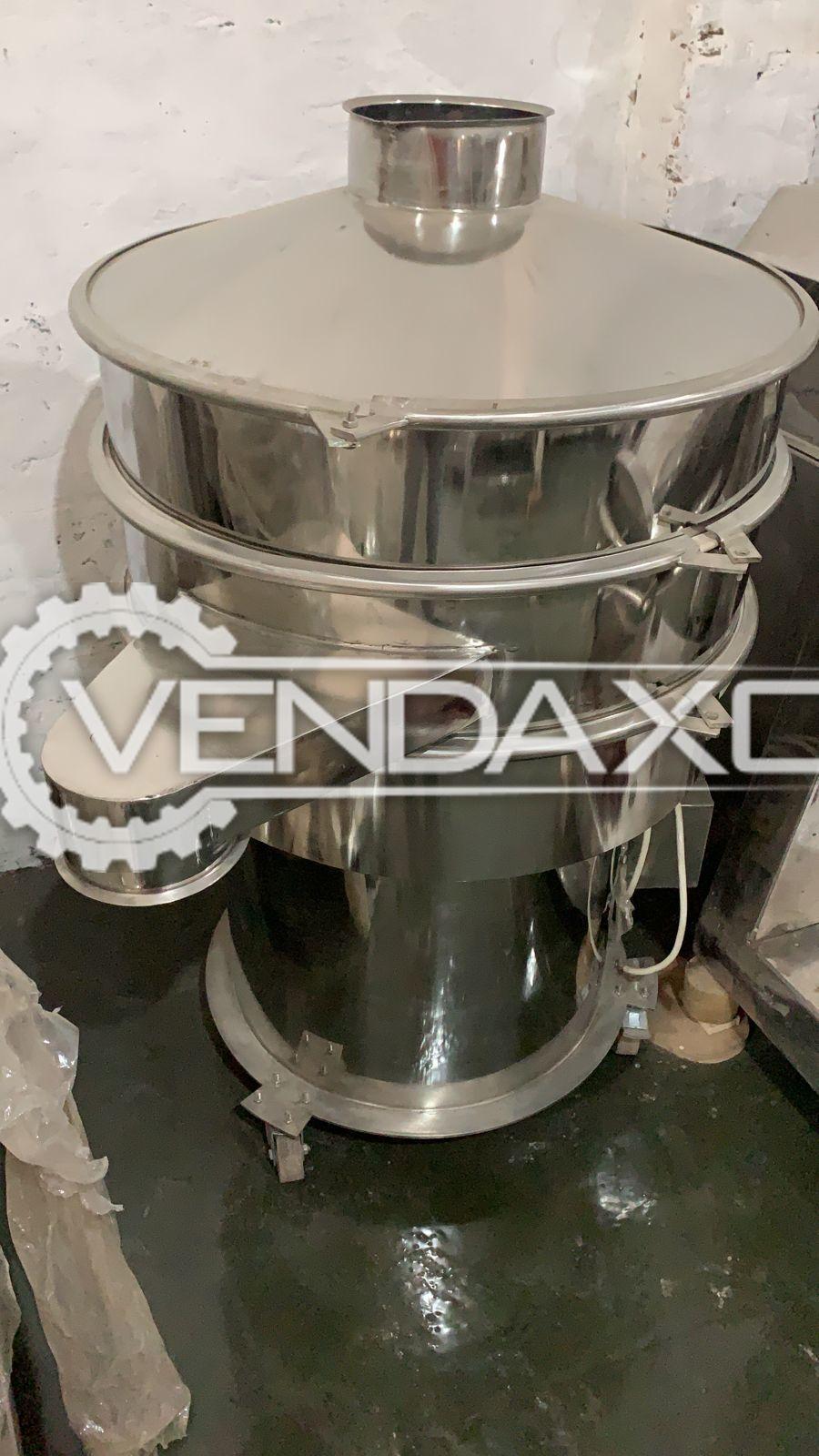 Double Decker Vibro Shifter Machine - 30 Inch, GMP Model