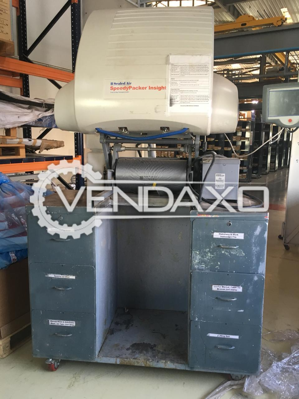 Sealed Air Instapack Speedy Packer Machine - 2011 Model